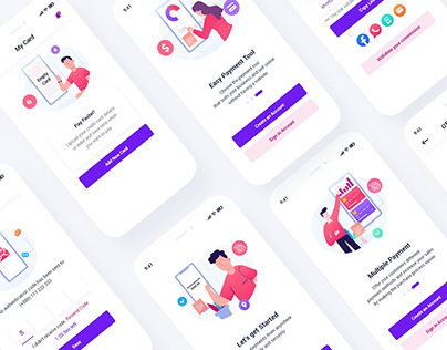 Mobile Banking App UI Template