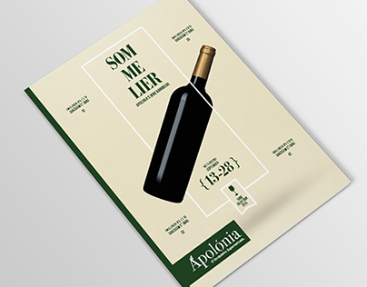 Wine Magazine for Apolonia Supermarkets