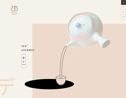 Mỹ Gia Lạc Pottery Web Design