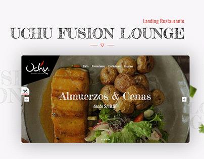 Landing page | Uchu Fusion Lounge