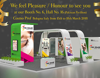 Paksadaf China Event Stall Design 2018