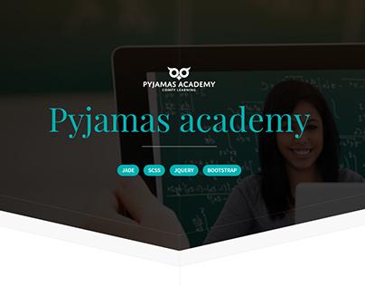 Pyjamas academy - elearning portal