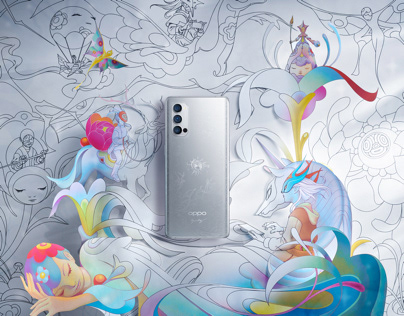 OPPO|James Jean ,Reno4 Pro Artist custom