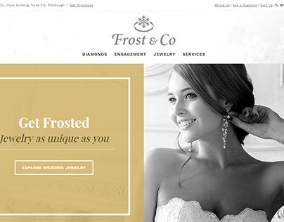 Frost Diamonds Custom Web Design