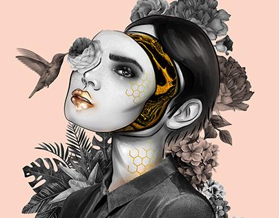 Illustration: Behind the mask