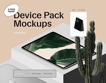 Device Pack Mockups