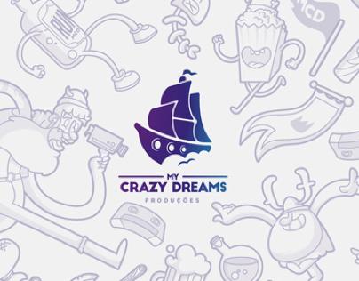 My Crazy Dreams Audiovisual • Branding
