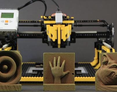 LEGO 3D Milling Machine