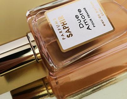 Packshots Saphir Parfums