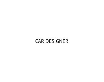 CAR DESIGNER, Mattia Gessi