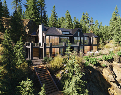 Canada | House in the mountains