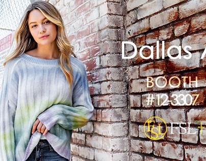 fashion banner for 2020 dallas fashion show
