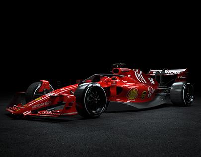 2022 Ferrari Formula 1 Concept Car