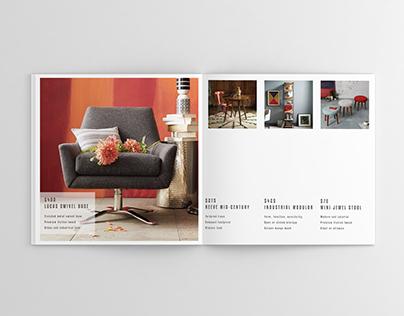 Print Layout Design Mock-up