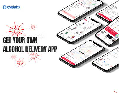 On-Demand Alcohol Delivery App UI Kit