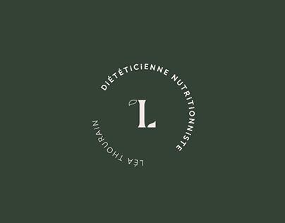 Léa thourain's brand identity