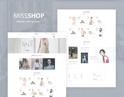 MissShop - Shop Template