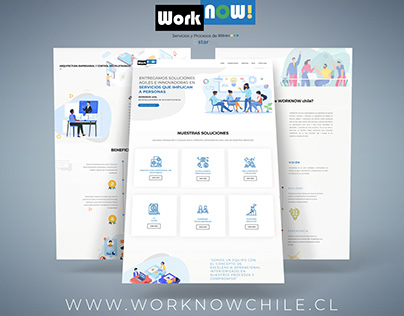 Worknowchile - Website