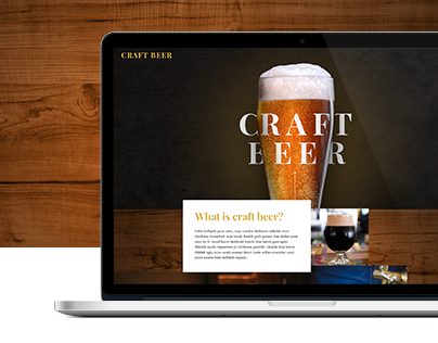 Craft beer website