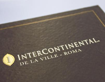 Brochure Hotel Intercontinental Rome