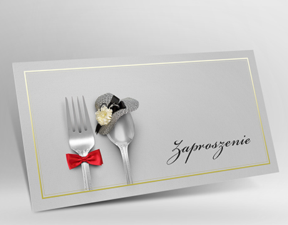 Formal Dinner Invitation for Couples