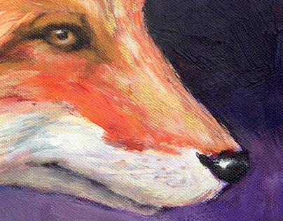 Paint Fox / Animalia Sumus