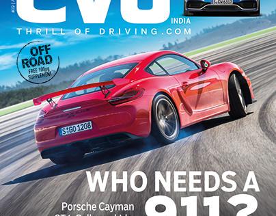 EVO Magazine Design