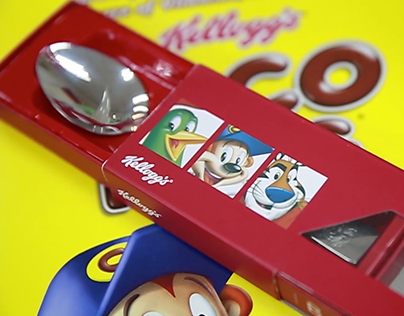 "Kellogg's. ""Personalised Spoons"". Spring 2015."