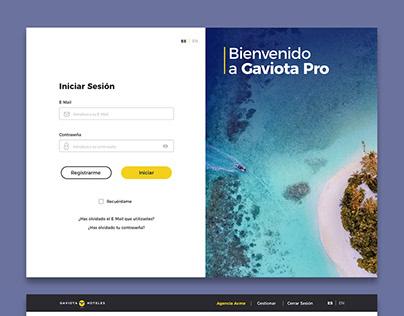 Web Design - Gaviota Pro / Meliá