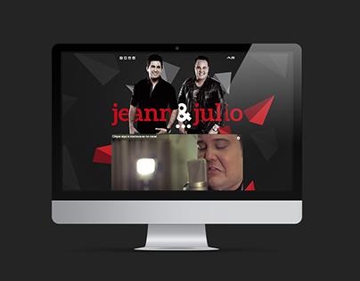 Hotsite - Jeann e Julio