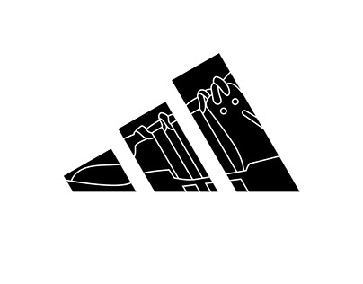 Adidas printed tee- EQT (sample design only)