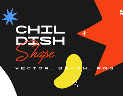 Free Download Childish Shape Brush, Vector & PNG