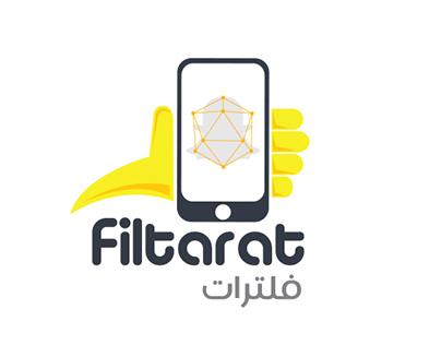 filtarat.com™ Logo & branding Website design