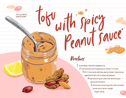 Recipe with Peanut Butter