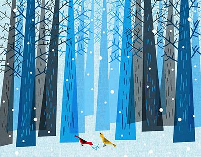 "JAMES YANG'S ""Snowday"""