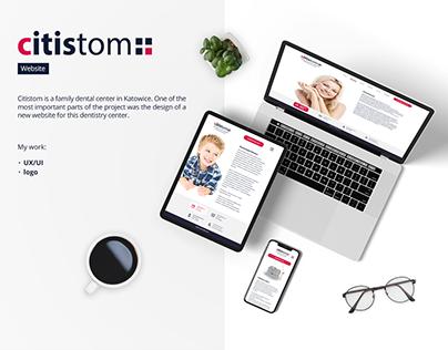 citistom - website, registration and management system
