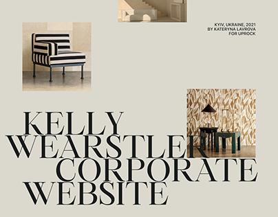 Kelly Wearstler Corporate Website Redesign