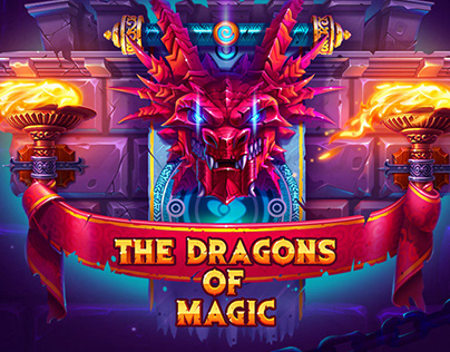 The dragos of magic. Slot game Mobile icons Game design