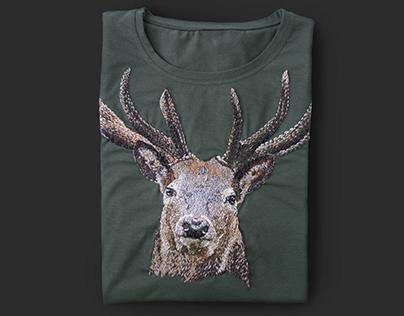 T-shirt Deer