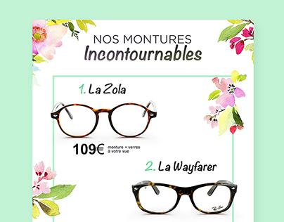 Spring glasses