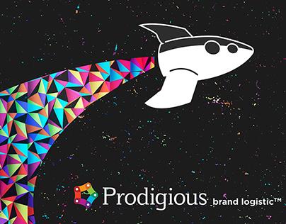 Prodigious - Mailing y piezas de evento.