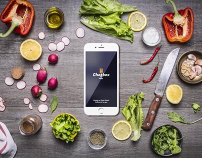 Chefbox Mobile App Concept