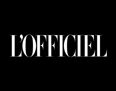 L'Officiel – Website Concept