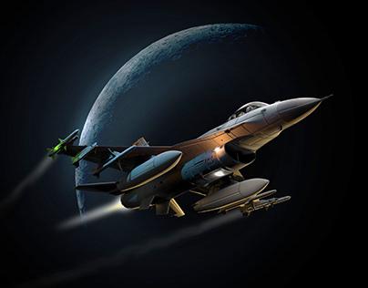 F-16 Falcon Nightflight