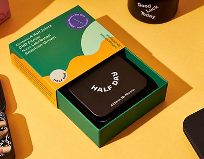 Half Day CBD | Branding & Packaging
