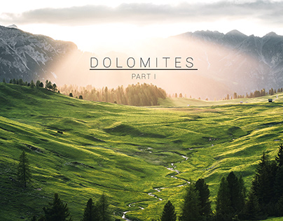 Dolomites - Part I (Lightroom Edits)