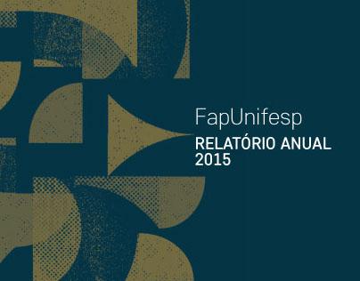 FapUnifesp - Relatório Anual 2015