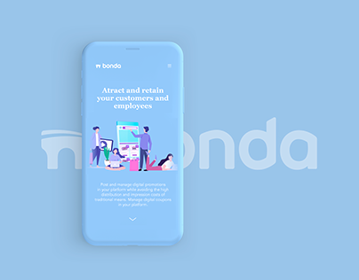 Bonda's Landing Page