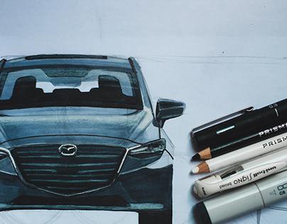 Mazda 3 Render