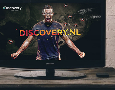 Motion Graphics Bear Grylls | Discovery Networks